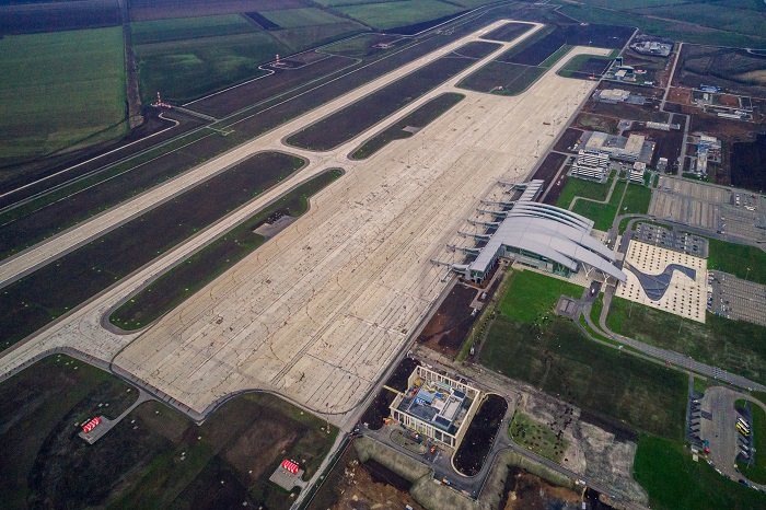 Platov Airport in the Rostov region (2017)