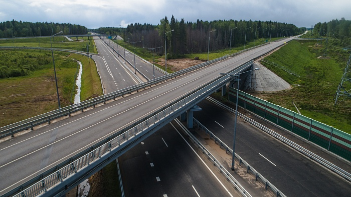 M-11 Moscow – Saint Petersburg Highway km 334 – km 543 segment in Tver and Moscow regions (2018)