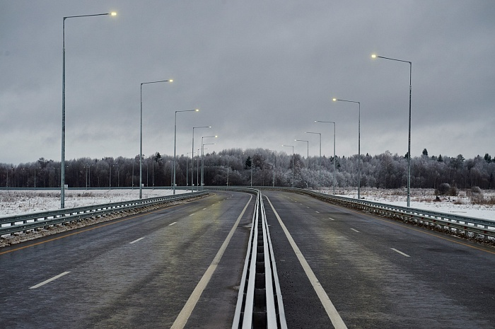 Section of M-11 «Moscow – St. Petersburg» Highway (km 208 - km 258) in the Tver region (Torzhok bypass; 2017)